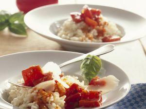Paprika-Risotto Rezept