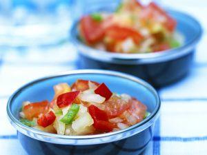 Paprika-Tomatensalat Rezept