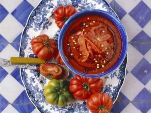 Paprika-Tomatensuppe Rezept
