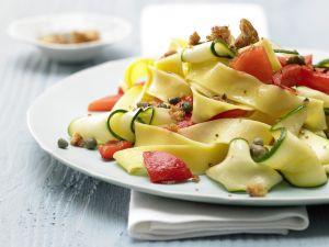 Paprika-Zucchini-Nudeln Rezept