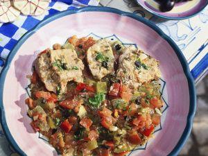 Paprikaeintopf mit Thunfisch Rezept