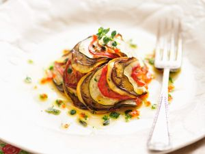 Paprikagemüse mit Zucchini Rezept