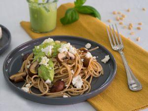 Pasta mit Brokkoli-Pesto Rezept