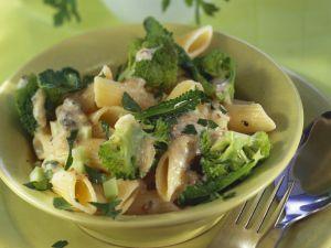 Pasta mit Brokkoli und Gorgonzola Rezept