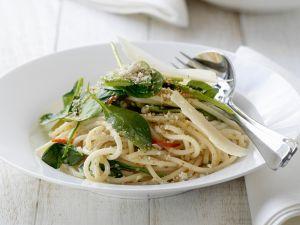 Nudeln mit Spinat Rezepte