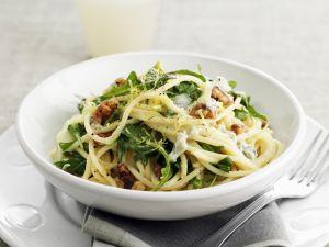 ravioli mit rucola und parmesan rezept eat smarter. Black Bedroom Furniture Sets. Home Design Ideas