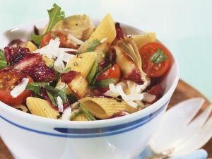 Pastasalat mit Radicchio Rezept