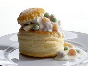 Pastetchen mit Kalbsragout Rezept