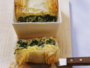 Pastete mit Feta und Spinat auf türkische Art Rezept