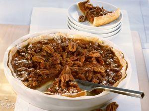 Pecan-Kürbis-Pie Rezept