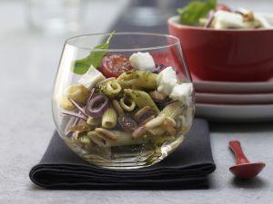 Pesto-Nudelsalat Rezept