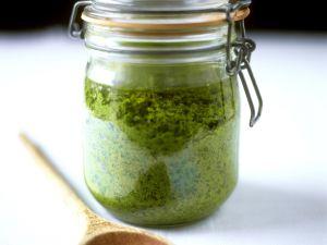 Pesto mit Spinat-Rezepte Rezepte