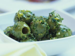Petersilien-Oliven Rezept