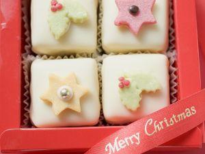 Petit Fours zu Weihnachten Rezept