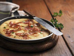 Sonntag: Apfel-Bacon-Pfannkuchen