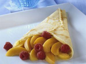 Pfannkuchen mit Früchten Rezept