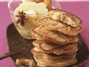 Pfannküchlein mit Birnen Rezept