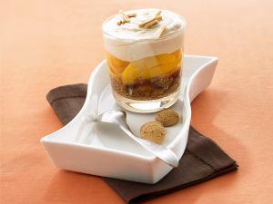 Pfirsich-Amaretto-Trifle Rezept