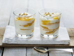 Pfirsich-Haselnuss-Joghurt Rezept