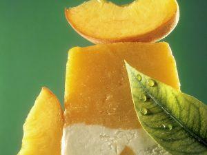 Pfirsich-Joghurteis Rezept