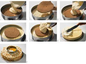 Pfirsich-Sahne-Torte zubereiten Rezept