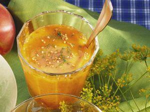 Pfirsich-Senf-Dip Rezept