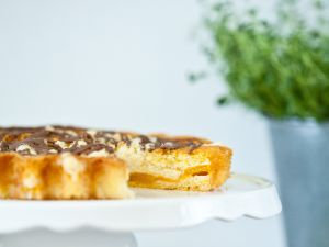 Pfirsichkuchen mit Streuseln Rezept