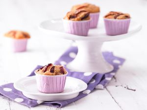 Pflaumen-Muffins Rezept