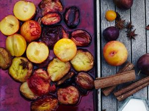 Pflaumenkonfitüre im Ofen gebacken Rezept