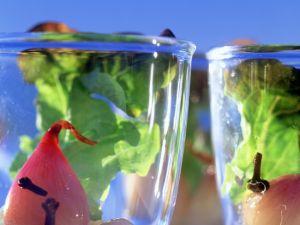 Pikant eingelegte Schalotten mit Eichblattsalat Rezept