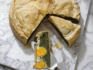 Pikante italienische Ostertorte Rezept