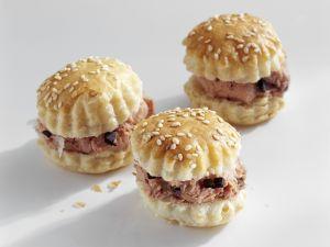 Pikante Küchlein mit Trüffelleberwurst Rezept