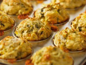 Pikante Lauch-Muffins Rezept