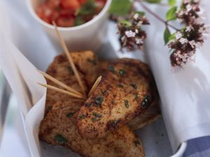 Pikante Putenbrust mit Tomatensalsa Rezept