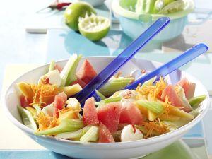 Pikanter Melonensalat Rezept
