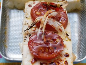 Pikanter Tofu mit Tomate Rezept