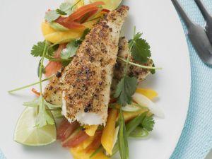 Pikantes Pangasiusfilet mit Gemüse Rezept