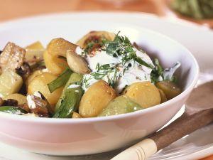 Pilz-Kartoffel-Eintopf Rezept
