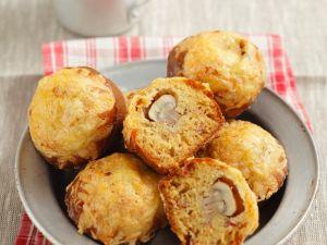 Pilz-Muffins mit Speck Rezept