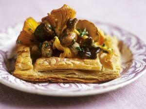 Pilz-Tartelett Rezept