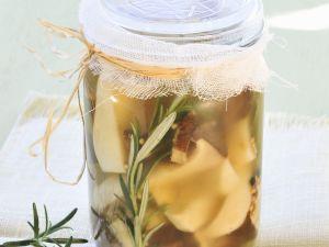 Pilze in Öl-Marinade Rezept