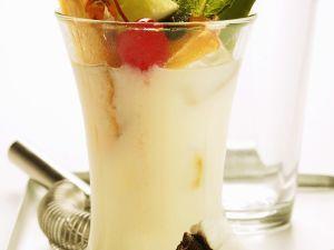 Pina Colada mit Früchten Rezept