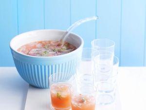 Pink Grapefruit-Bowle Rezept
