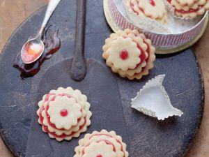 Plätzchen mit Marmelade Rezept