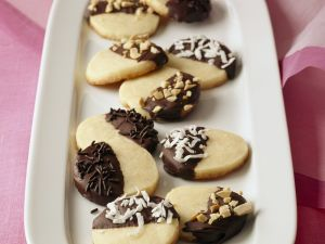 Plätzchen mit Schokolade Rezept