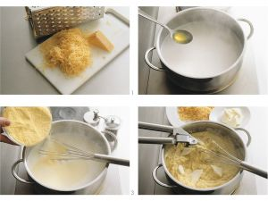 Polenta mit Käse Rezept