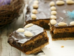 Polnischer Mohnkuchen mit Erdnussbutter Rezept