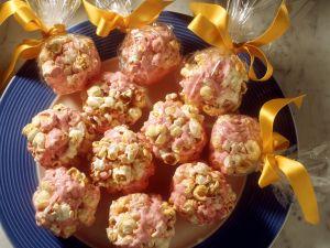 Popcorn-Schokobällchen Rezept
