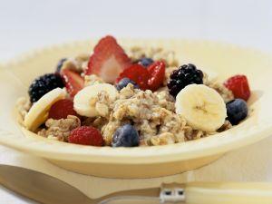 Porridge mit Obst Rezept