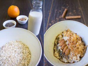 Porridge mit Winterobst selber machen